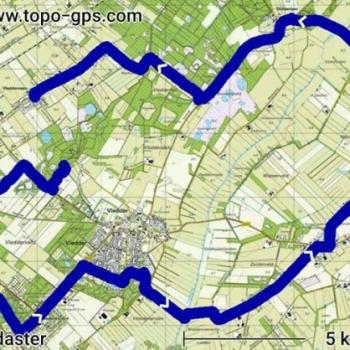route fietstocht 272017