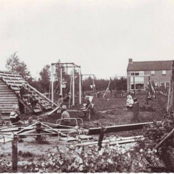 oude foto speeltuin