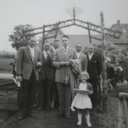"Opening ""Ons Veilig Plekje"", 22 mei 1960"