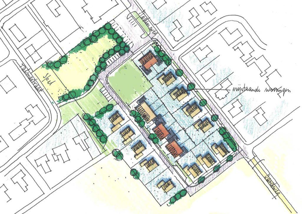 Gemeentelijk bebouwingsvoorstel Vledderveen