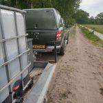 Het is droog in Vledderveen