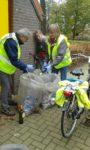 Vrijwilligers houden 126 kilometer wegberm schoon van zwerfafval