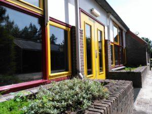 De voormalige school staat al twee jaar leeg. Foto: Nikkie Serrarens