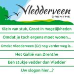 Stemmen op slogan Vledderveen