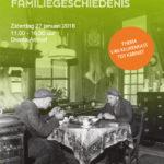 Uitnodiging Dag van de Drentse Familiegeschiedenis op zaterdag 27 januari 2018