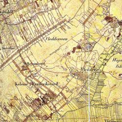 Vledderveen en omgeving ca. 1850