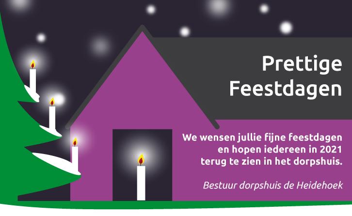 Bestuur dorpshuis wenst jullie fijne feestdagen