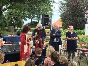 Boekpresentatie op 26 augustus 2021 bij 'De Heidehoek' Vledderveen. 1
