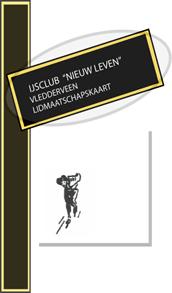 """Lidmaatschapskaart IJsclub """"Nieuw Leven"""" Vledderveen"""