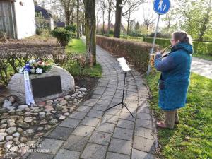 Dodenherdenking in Vledderveen 2021