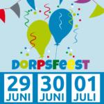 Dorpsfeest 29, 30 juni en 1 juli