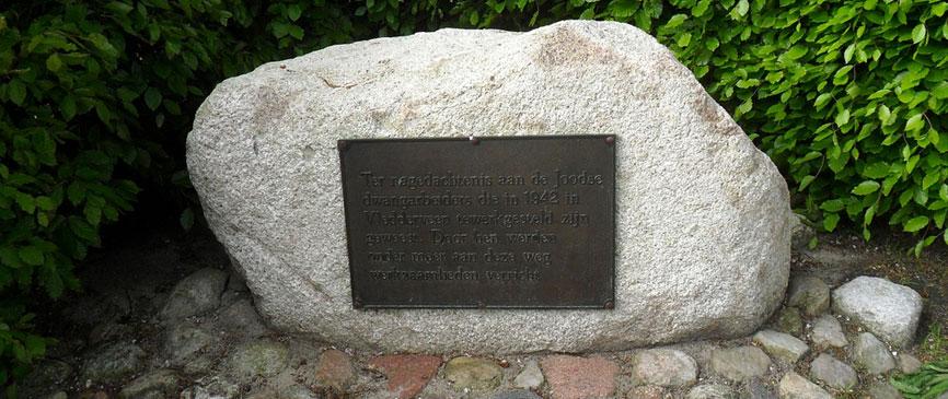 Joods monument Vledderveen Drenthe