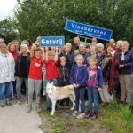 Groepsfoto Gasvrij Vledderveen: de foto