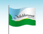 Impressietekening vlag Vledderveen